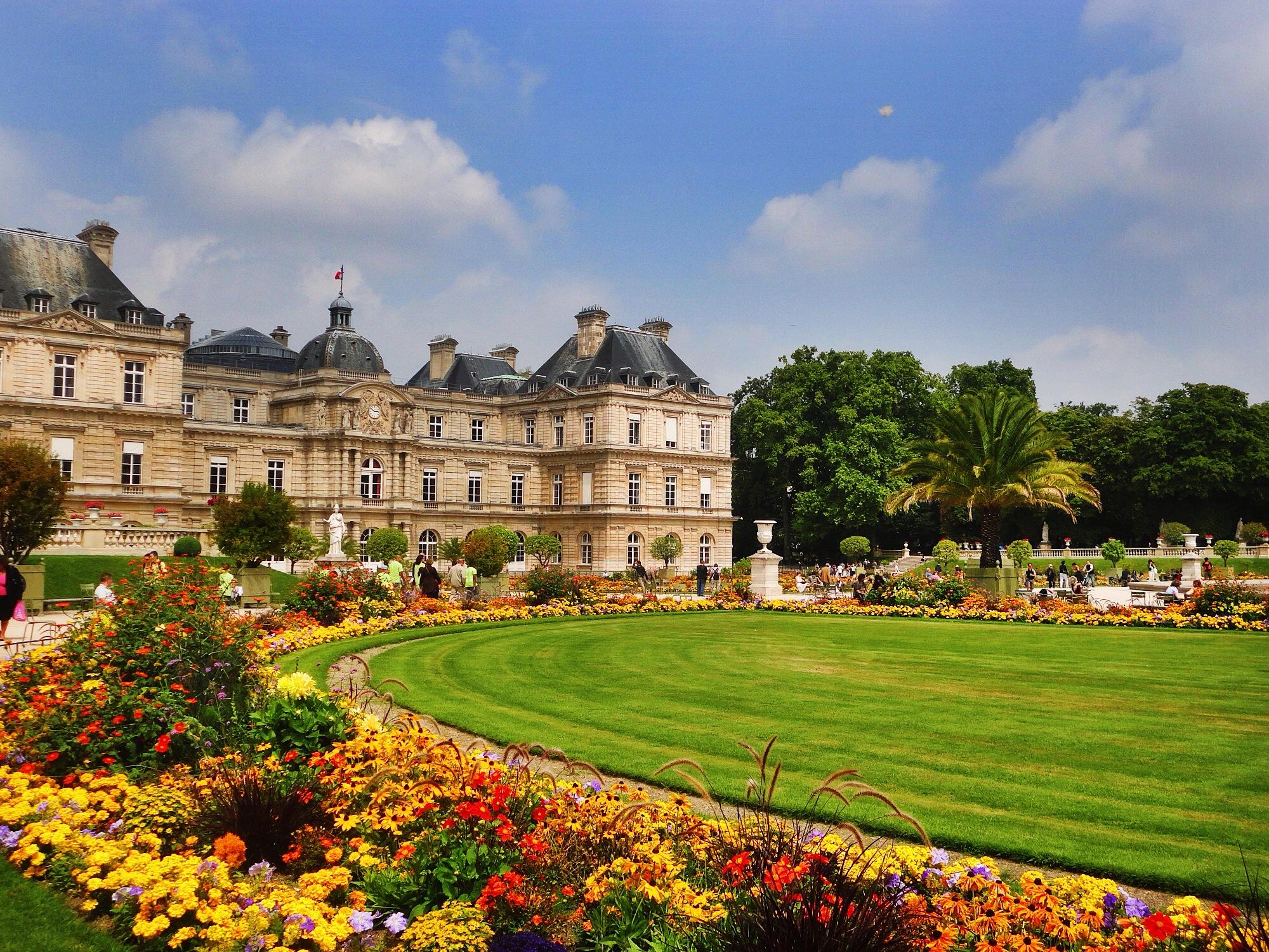 O jardim de luxembourg expresso paris for Jardines de luxemburgo paris