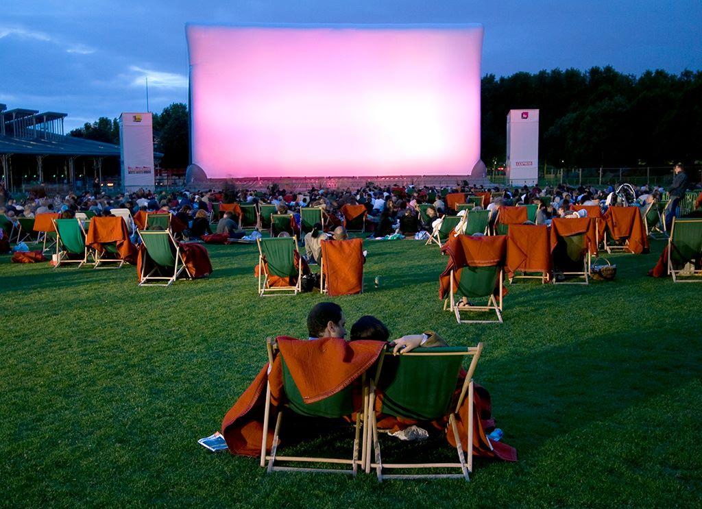 festival de cinema ao ar livre