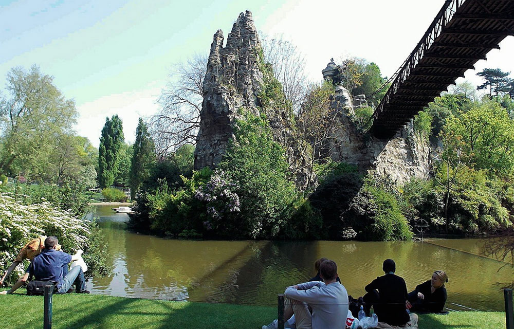 Très Buttes Chaumont: um parque fora da rota do turismo - Expresso Paris CA84