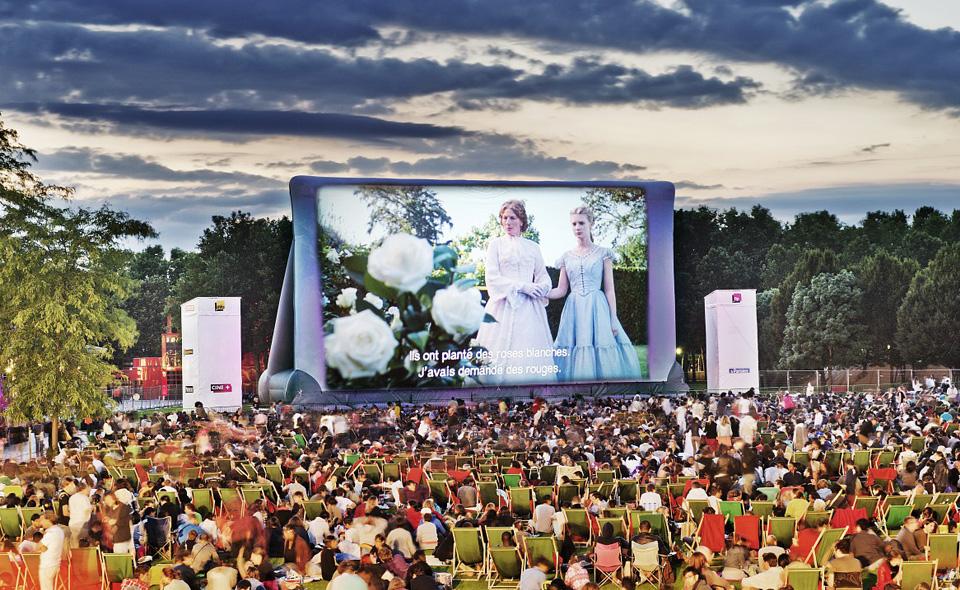 cinema en plein air