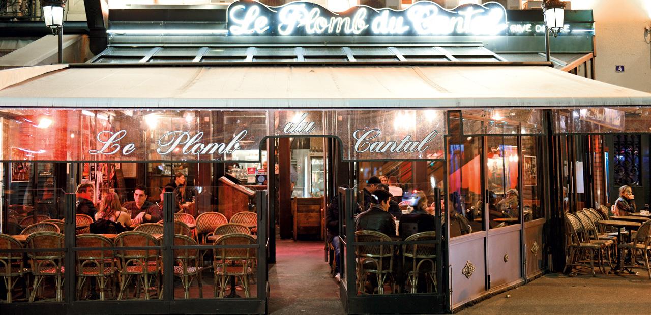 Le plomb du cantal um t pico restaurante franc s for Restaurante frances