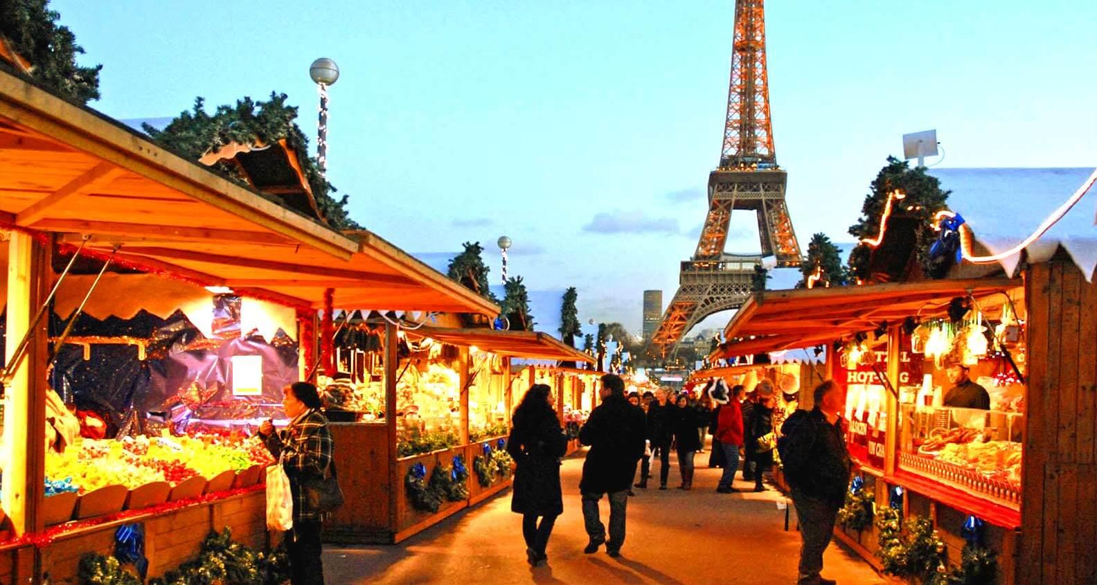 feirinhas de natal em paris